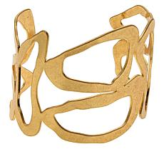 "MarlaWynne Abstract 7-1/4"" Cuff Bracelet"