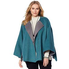 MarlaWynne Double-Faced Melton Coat