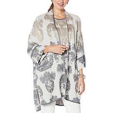 MarlaWynne Jacquard Drama Kimono