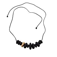 MarlaWynne Matte Stone Convertible Belt/Necklace