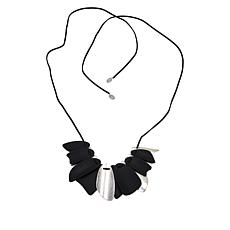 "MarlaWynne Mixed Media 29"" Graduated Bib Necklace"