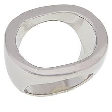 MarlaWynne Open Circle Negative Space Ring
