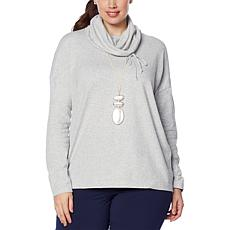 MarlaWynne Pullover Cowl Neck Sweater