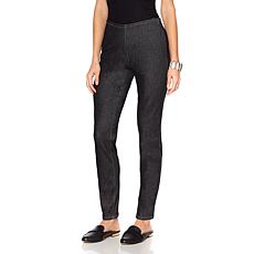 MarlaWynne Side Zip Denim Pant