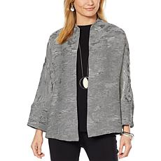 MarlaWynne Textured Jacquard Topper