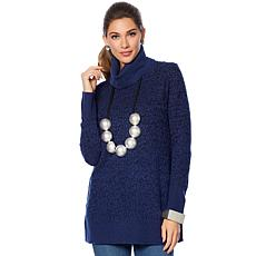 MarlaWynne Wool-Blend Turtleneck Sweater