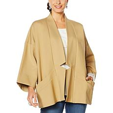 MarlWynne Notch Collar Jacket