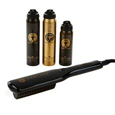 Martino Cartier Heat Blade with 3 Mini Hairsprays