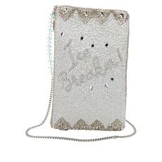 Mary Frances Handmade Beaded Ice Breaker Phone Pouch