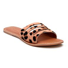Matisse Beach Boardwalk Cowhair Slide Sandal