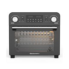 Maxi-Matic Elite Gourmet Programmable 23L Air Fryer/Rotisserie Oven