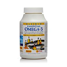 Maximum Essential Omega-3 - No Fishy Taste - Mint - 360 Capsules