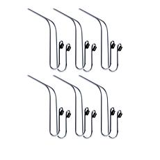 Maxsa Mini Car Hangers Set of 6
