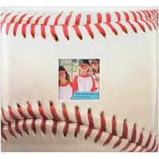 MBI Sport and Hobby Post Bound Album W/Window 12X12 - Baseball
