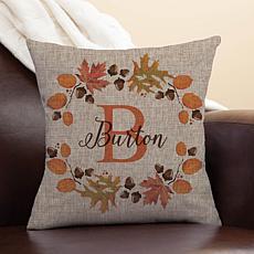 MBM Personalized Autumn Throw Pillow