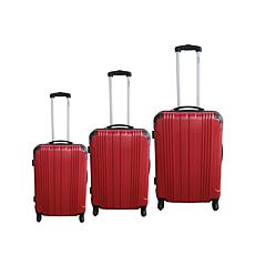 McBrine Hard-Sided Polycarbonate 3-piece Luggage Set