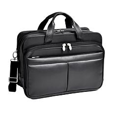 "McKleinUSA ""Walton"" Leather Expandable Briefcase"
