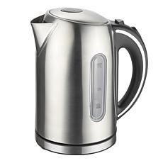 MegaChef 1.7 Liter Stainless Steel Electric Tea Kettle