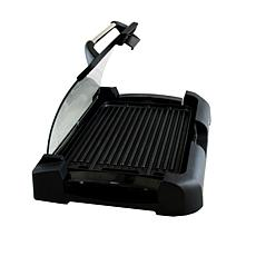 Megachef Reversible Grill/Griddle with Glass Lid