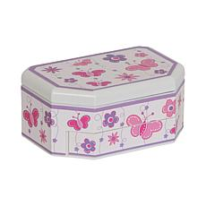 Mele & Co. Kelsey Girl's Musical Ballerina Jewelry Box