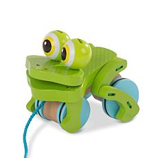 Melissa & Doug First Play Frolicking Frog Pull Toy