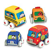 Melissa and Doug Pull-Back Vehicles