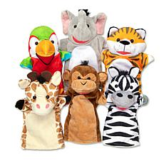 Melissa & Doug Safari Puppet Set