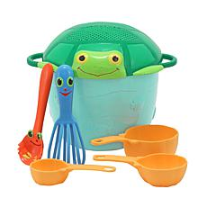 Melissa & Doug Seaside Sidekicks Sand Play Baking Set