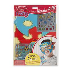 Melissa & Doug Simply Crafty Superhero Masks and Cuffs