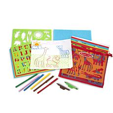 Melissa & Doug Stencil Activity Set