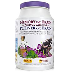 Memory and Brain with Acetyl L-Carnitine-120 Packets-AS