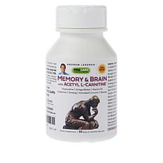 Memory and Brain with Acetyl L-Carnitine - 30 Capsules