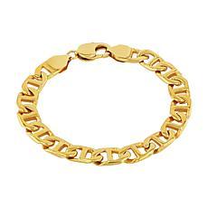 Men's Gold-Tone Stainless Steel Mariner Link Bracelet