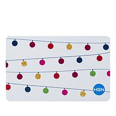 Merry & Bright $25.00 HSN Gift Card