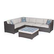 Metropolitan 5pc Outdoor Lounge Set - Silver Lining