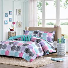 Mi Zone Carly Printed Comforter Set - Full/Queen