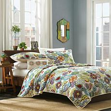 Mi Zone Tamil  Printed Coverlet  Set - Twin/Twin XL