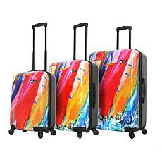 Mia Toro Duaiv Sails 3-piece Luggage Set