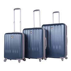 Mia Toro Italy Mozzafiato 3pc Spinner Luggage