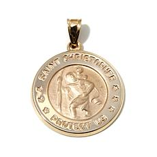 Michael Anthony® 10K Gold St. Christopher Medallion