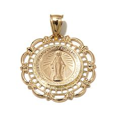 "Michael Anthony Jewelry® 10K ""Virgin Mary"" Pendant"