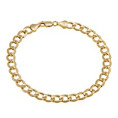 "Michael Anthony Jewelry® 14K Cuban Link 8-1/2"" Bracelet"