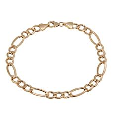 "Michael Anthony Jewelry® 14K Figaro Chain 8-1/4"" Bracelet"