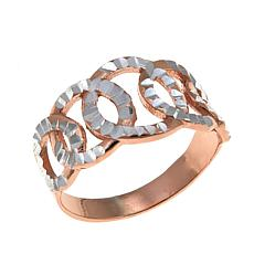Michael Anthony Jewelry® 2-Tone Circle Band Ring