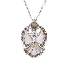 "Michael Anthony Jewelry® Nativity Stone ""Angel"" Pendant"