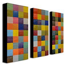 Michelle Calkins 'Color Collage 108' Art Collection