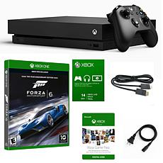 """Microsft Xbox One X 1TB 4K Console with """"Forza Motorsport 6"""" Game"""