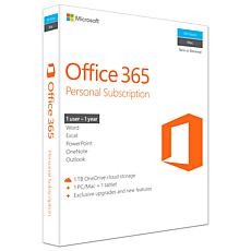 Microsoft Office 365 Personal Subscription + Exclusive Upgrades
