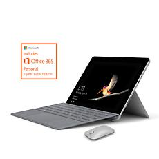 """Microsoft Surface Go 10"""" Intel 128GB 2-in-1 PC w/Mouse & Office 365"""