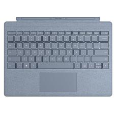 Microsoft Surface Pro Signature Type Cover and Keyboard in Ice Blue